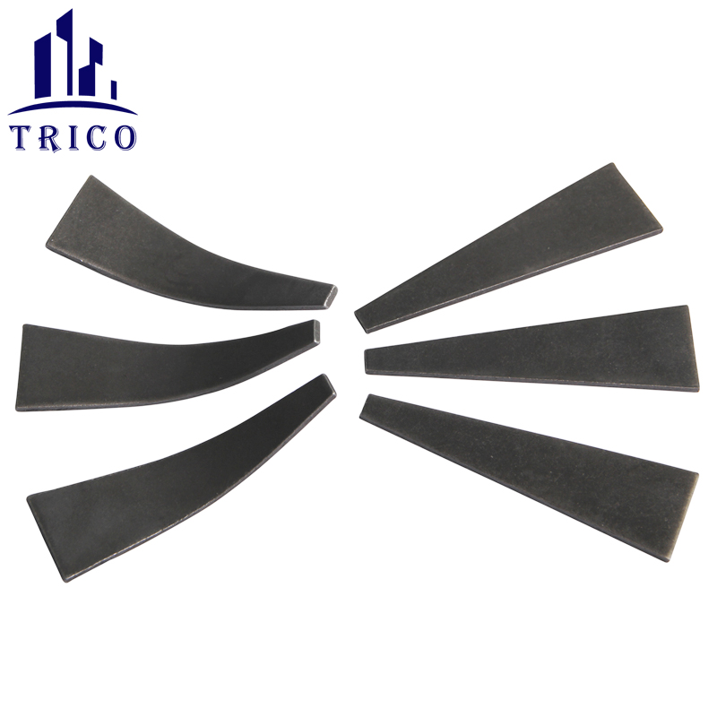 Aluminum Forming System Wall Ties Round Head Pin Curved Wedge and Straight Wedge