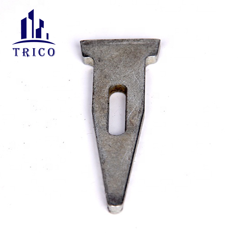 Steel Formwork System Flat Tie with Wedge Pin for Wall Concrete