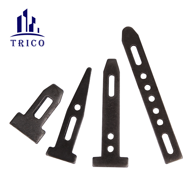 Steel Ply Forming System X Flat Tie Wall Tie with Wedge Bolts