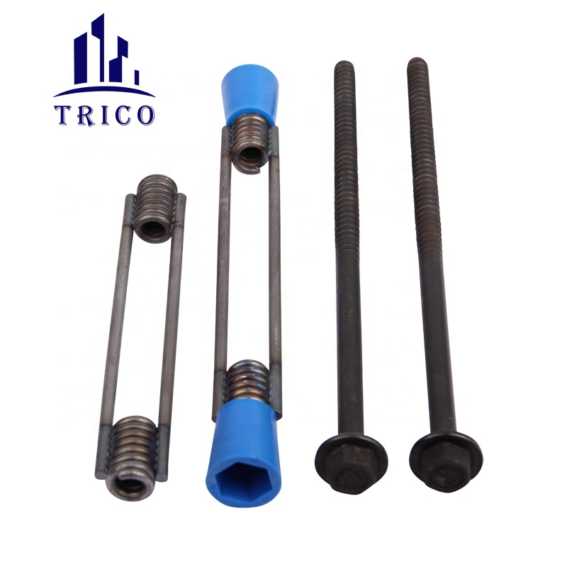 Concrete Formwork Accessories Coli Tie System Two Strut Coil Tie