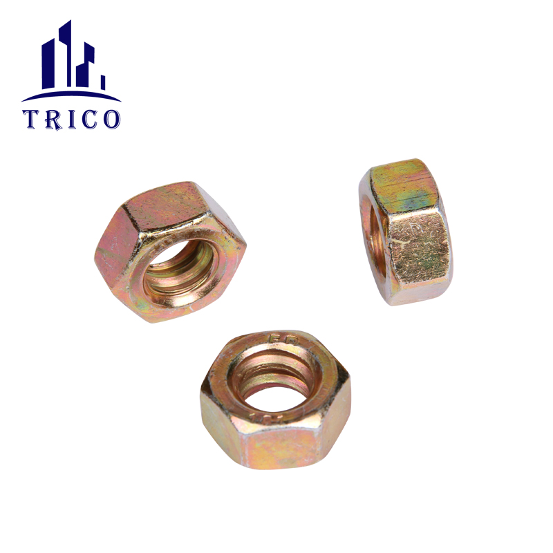 Building Material Formwork Tie System D Type B Type Hex Nut
