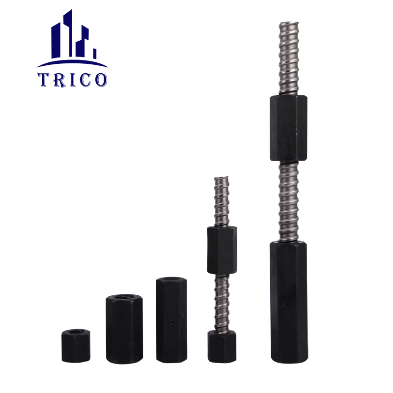 45# Steel Hex Nut and Connection Nut for Formwork Tie Rod System
