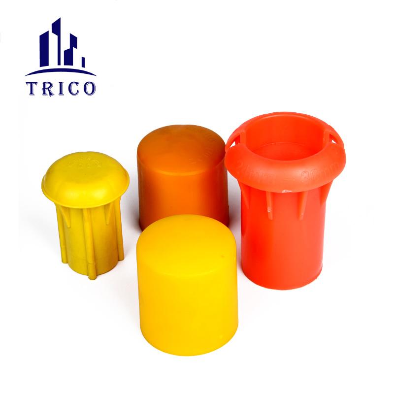 UV Protection Rebar Mushroom Plastic Rebar Protective Cap