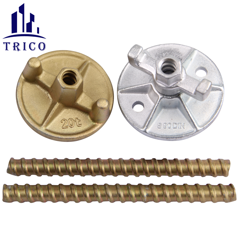 Forged Wing Nut Combi Plate Nut for 15/17mm Concrete Formwork Tie Rod
