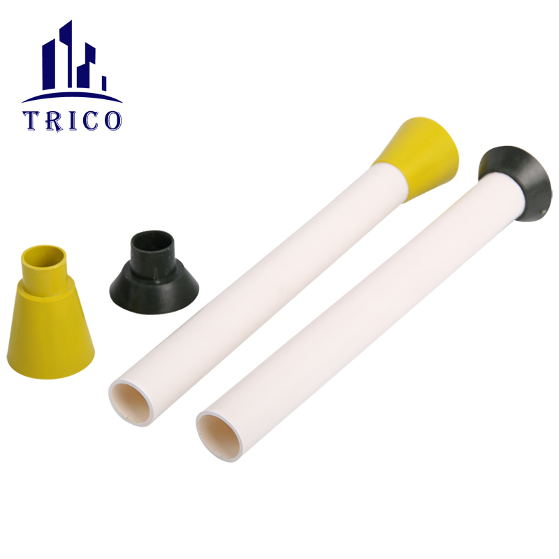 Plastic Pipe Sleeve and Cone for Tie Rod