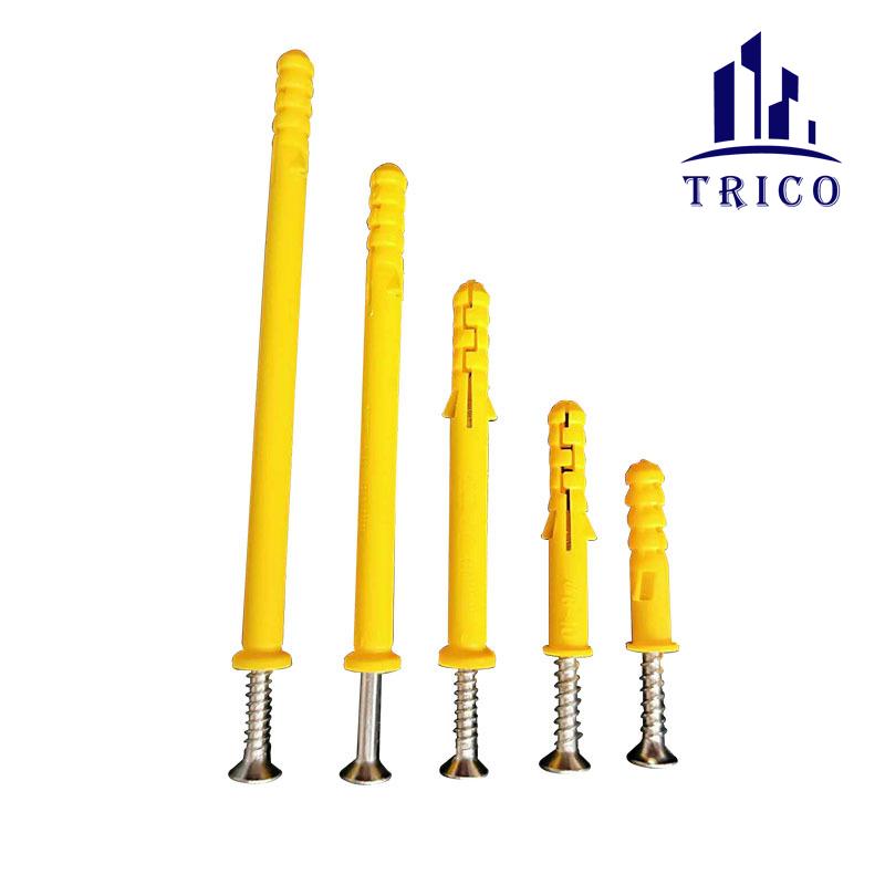 Plastic Screw Anchor Plastic Wall Plug Anchor Wall Plug Screw