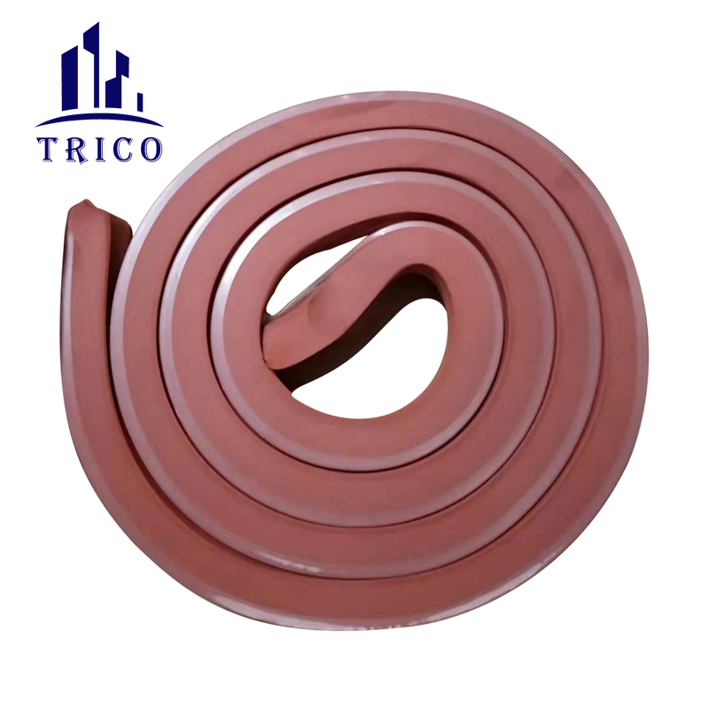 Concrete Joint Waterstop Strip Swelling Rubber Water Stop for Construction