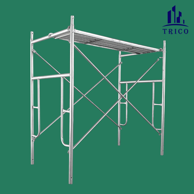 Building Scaffolding Door Frames with Caster