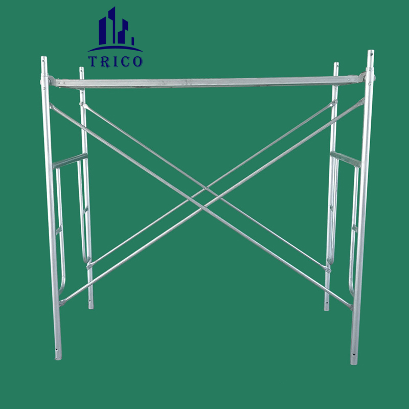 Building Scaffolding Door Frames with Caster