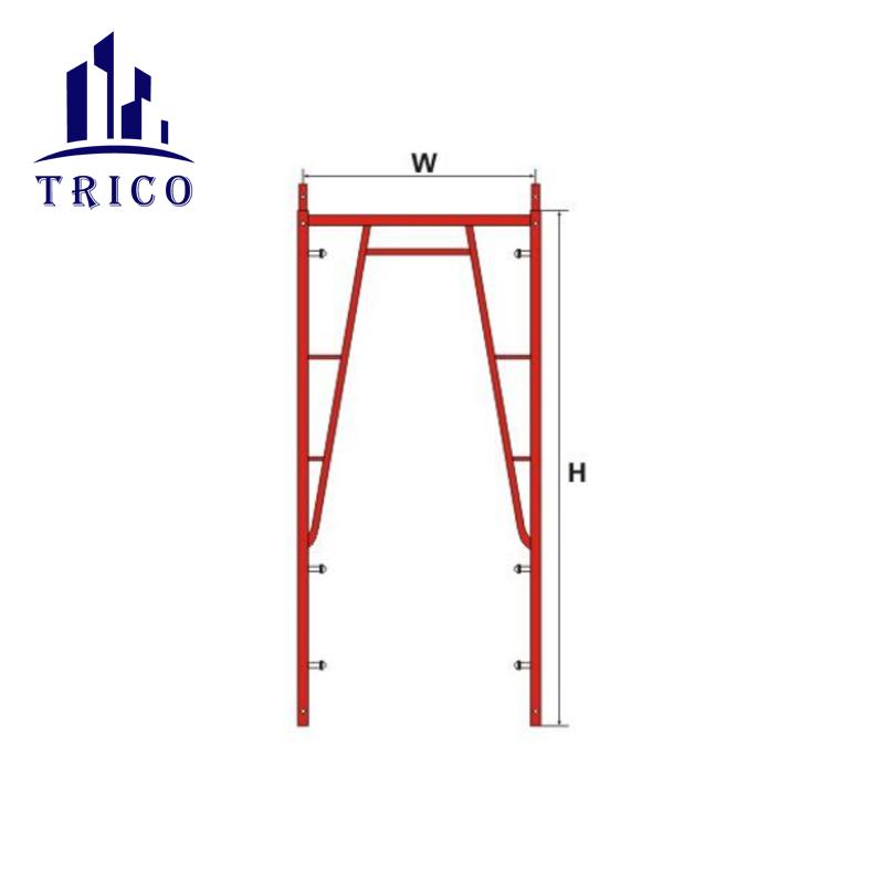 Frame Ladder Scaffolding System