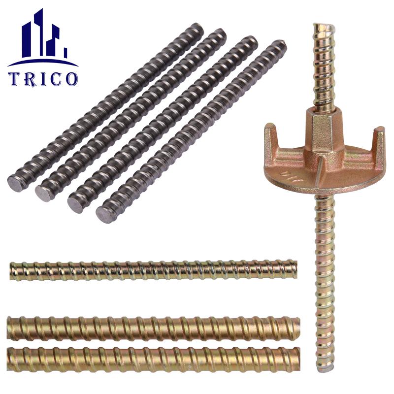 Steel Tie Rod for Formwork Tie Rod System