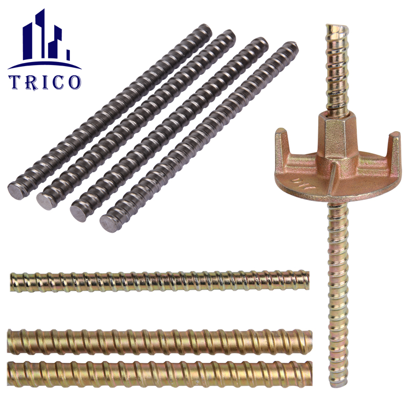 Construction Formwork Accessories Cold Rolled Steel Tie Rod