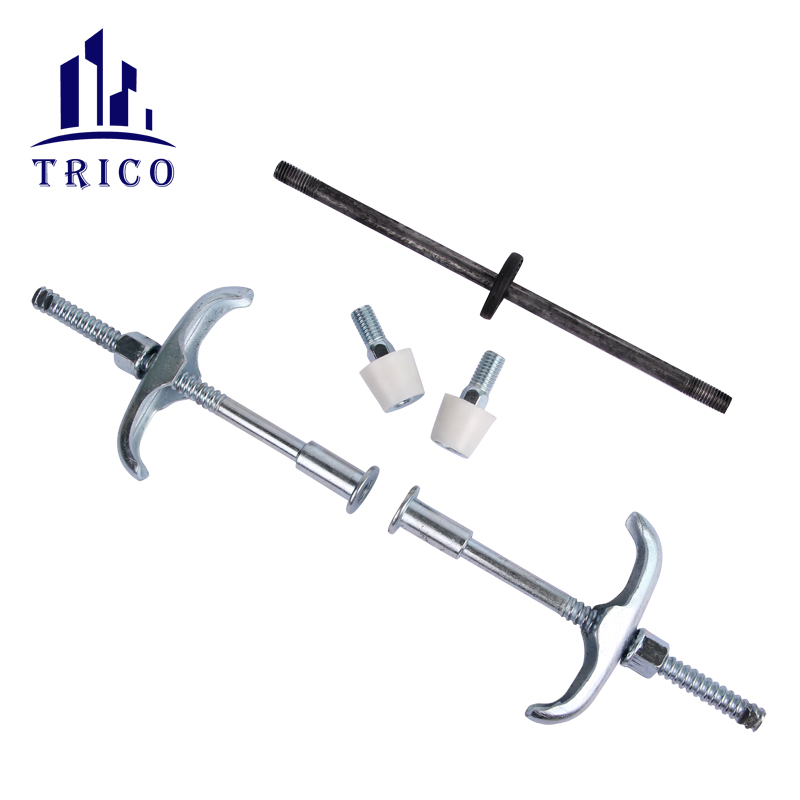 Build Concrete Formwork Screw Thread Water Stop Tie Rod