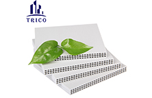 The Commercial Value of the Hollow Plastic Shuttering Board is Irreplaceable