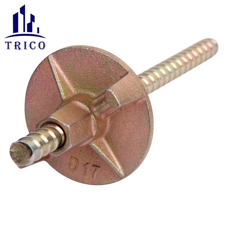 Formwork Accessories Casted Tie Nut Wing Nut for Steel Tie Rod