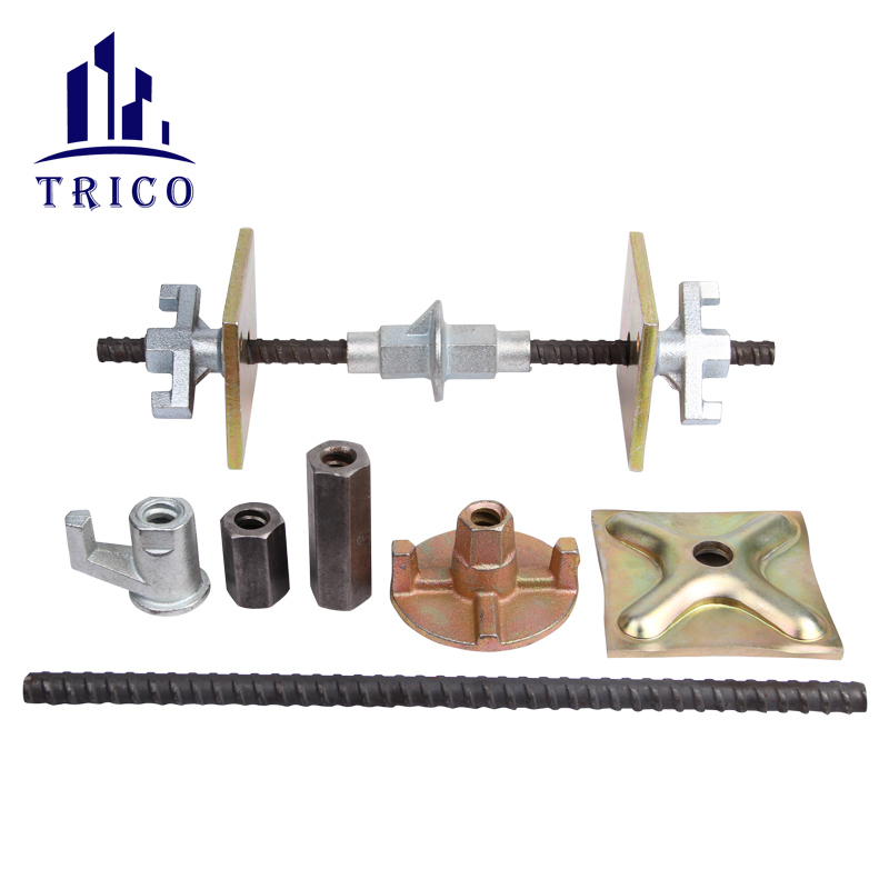 Formwork Accessories Cast Iron Hex Nut Connection Nut for Steel Tie Rod