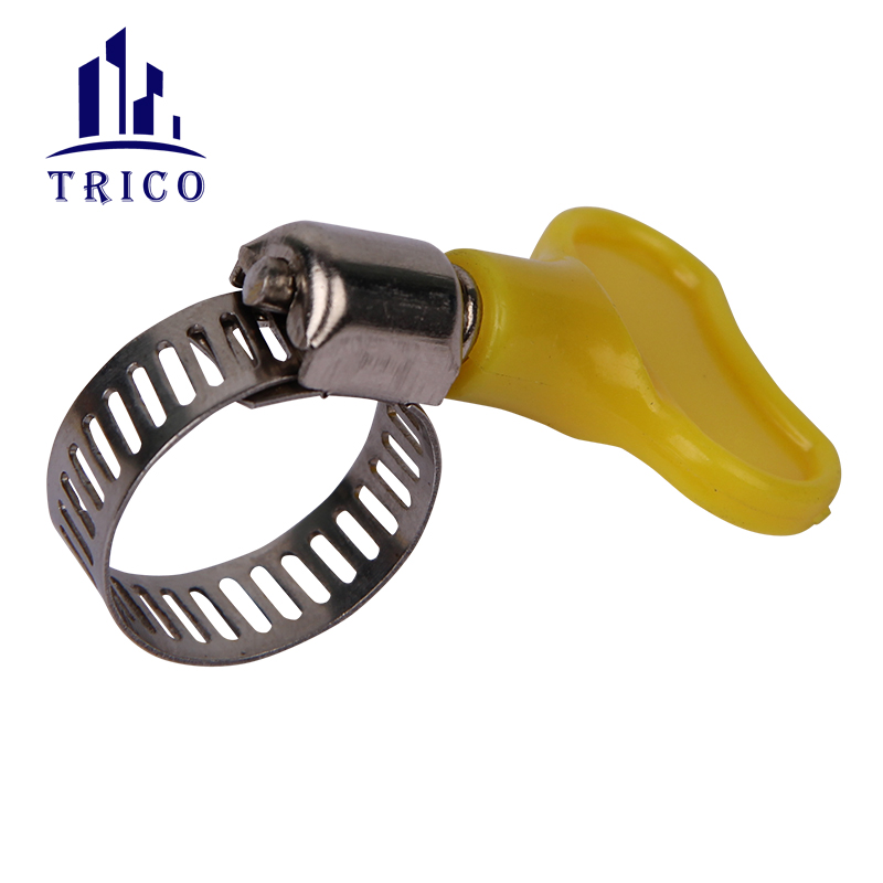 American Type Wing Nut Hose Clamp With Plastic Handle
