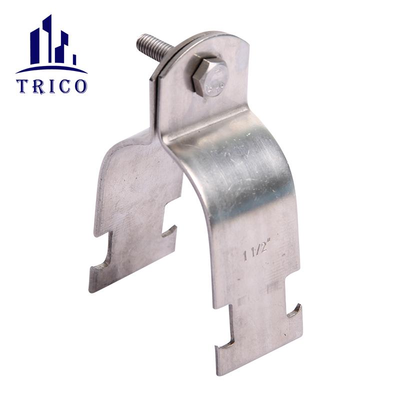 Stainless Steel Carbon Steel Heavy Duty Industrial P Type Strut Channel Clamp