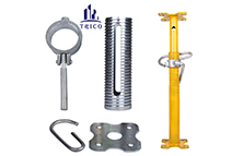 Construction Adjustable Scaffolding Formwork Shoring Prop Acrow Prop with Prop Sleeve and Related Accessories